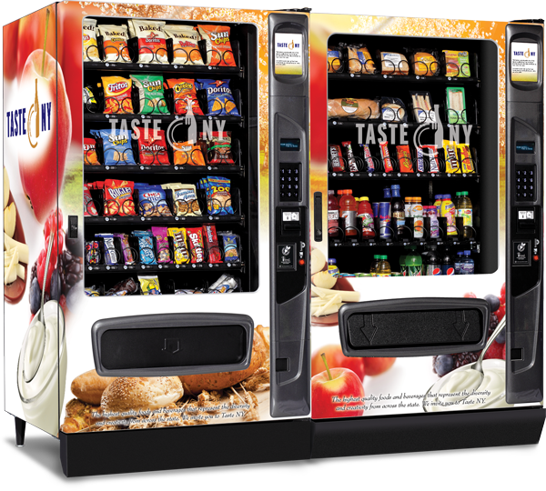 school vending machines Many schools have started offering healthier fare in some vending machines, but most students bypass the sliced apples and celery for potato chips and other junk food.